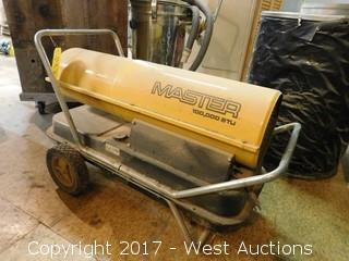 Master 100,000 BTU Kerosene Heater