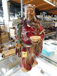 "Porcelain/Ceramic Figurine 22"""