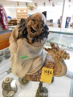 "Ceramic/Porcelain Figurine 10"""