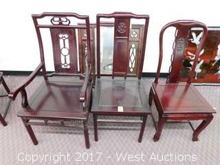 (3) Chinese Style Chairs
