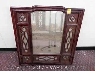 Carved Wood Frame Mirror