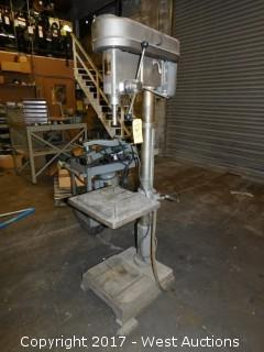 "Duracraft PD22-12 1.25"" Drill Press with Attachments"