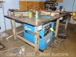 Welding Table With Contents