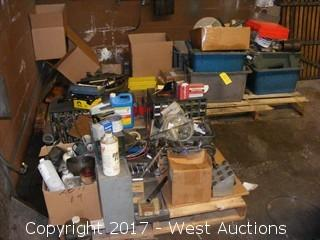 Bulk Lot of Tooling, Collets, Spacers