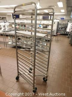(1) 6' Portable Tray Rack