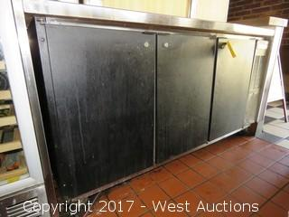 Beverage-Air BB72 Back Bar Refrigerator With Tap