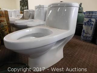 """(1) Porcelain Toilet, 26""""x15"""""""