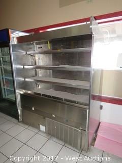 Barker Self-Serve Refrigerated Produce/Deli Cold Case
