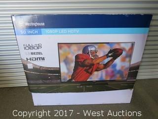 """Westinghouse 50"""" 1080P LED HDTV"""