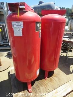 (2) Husky Pro 60 Gal. Cast Iron Pumps