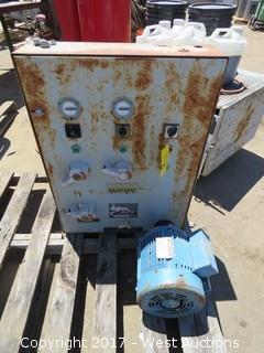 Pallet; Klockner-Moeller Control Unit / Small Phase 3 Motor