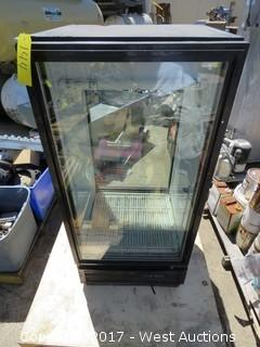 True  Glass Door Refrigerated Pass Through Unit