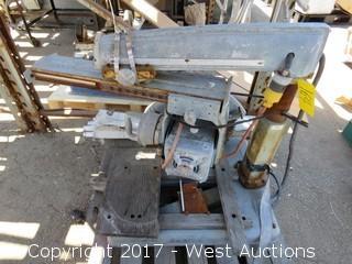"""Multiplex 40-A 10"""" Radial Arm Saw"""