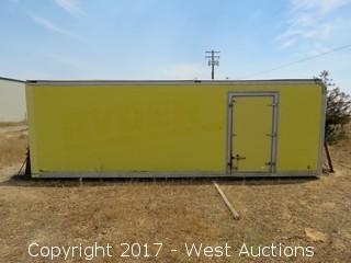 25' Box Storage Container with Contents