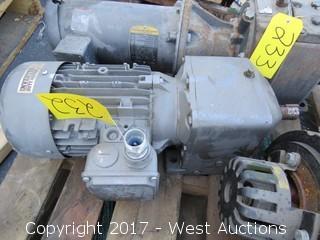 Baldor 3/4 HP 3 Phase Motor