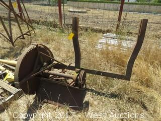 Large Antique Buzz Saw