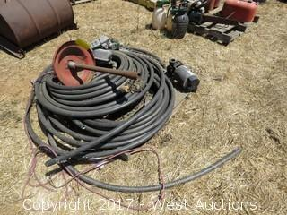 Gasoline Meters, Pump and Hose - 1 1/4""
