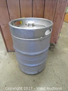 (131) Beer Kegs (empty, some partially filled)