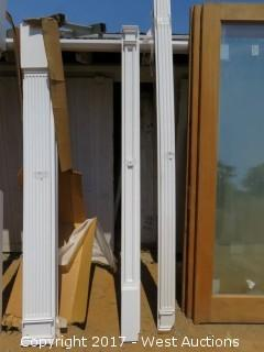 (6) Fluted Poly Pilasters 8' x 6""