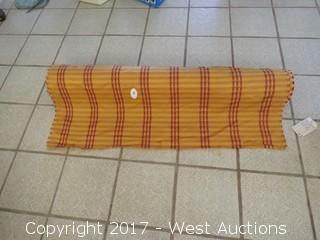 Salsburg Stripe Goldenrod Upholstery Fabric