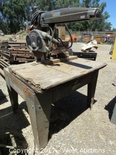 "DeWalt 14"" Radial Arm Saw"