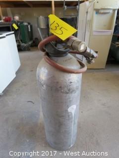 Aluminum CO2 Tank