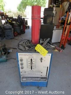 Montgomery Ward Power Kraft 295 Continuous Amperage Control Welder w/Cables