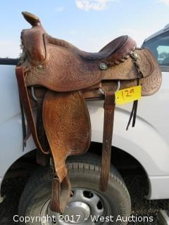 Leather Horse Saddle