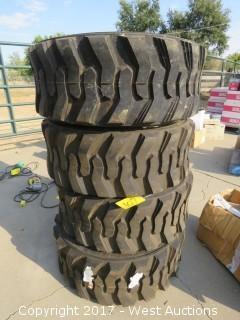 (4) 12-16.5 Tires