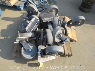 "Bulk Lot of 10"" Industrial Casters"