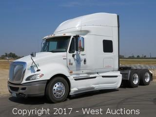 2012 International Prostar+ 122 6x4 Sleeper Cab Big Rig