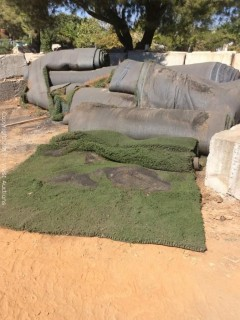 (4) Rolls of Artifical Turf
