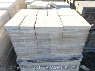 1 Pallet - 50 mm Pavers - MetroStone Meza/Plaza - Pebble Beach Blend