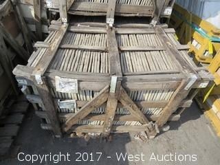 "(1) Crate of China Lotus 12"" x 12"" Slate Ungauged"
