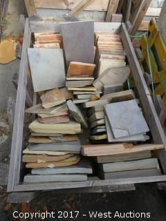 (1) Crate of Assorted Stepping Stones