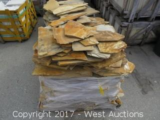 (1) Pallet of China Gold Random Slate Ungauged