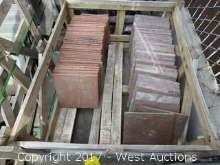 (1) Crate of China Lilac Mist and India Red Sandstone Ungauged