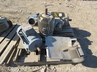 Pallet of (5) Motors