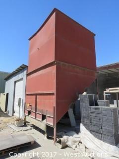 Industrial Hopper 18' x 11' x 10'