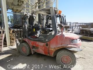 Linde Diesel Forklift (Not Running)