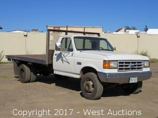 1988 Ford Super Duty Custom Flatbed Diesel