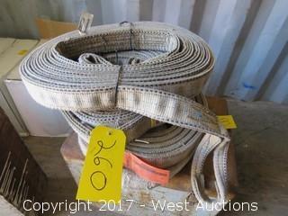 (4) Rolls of Rigging Slings