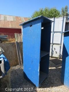 """Portable Shed 72"""" Tall"""