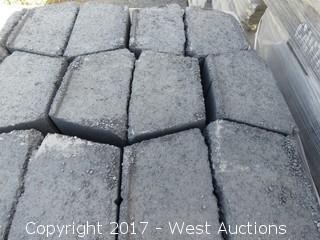 "1 Pallet - 4"" Garden Wall - Grey/Charcoal"