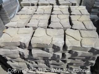 1 Pallet Patio Paver - Alameda Patio Stone, Brown/Charcoal