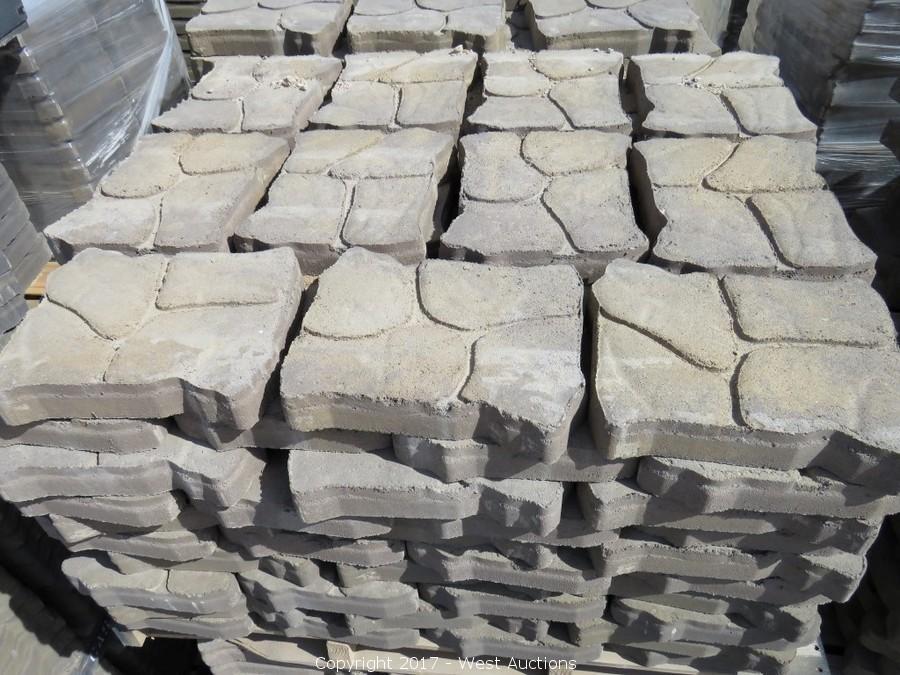 Auction of Surplus Pavers, Garden Wall and Masonry Block