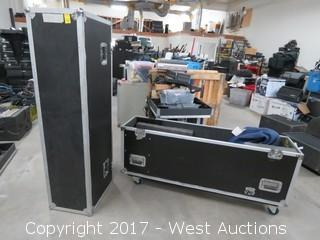 Portable Road Case with TV Mount