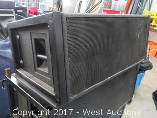 "38"" Industrial Speaker with Stacking Bracket"