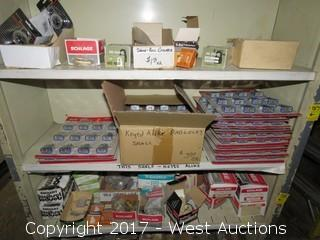 Shelf of (17) 12 Piece Padlock Sets