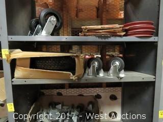 Shelf of (1) Wheel Barrow Kit and Casters